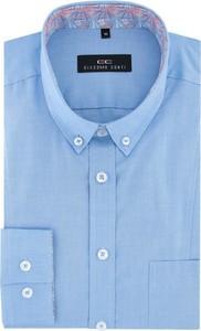 Niebieska koszula Giacomo Conti