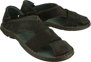 Czarne buty letnie męskie Enzo Peruzzi