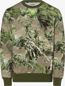 Zielona bluza Napapijri w sportowym stylu