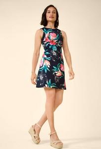 Sukienka ORSAY mini bez rękawów trapezowa