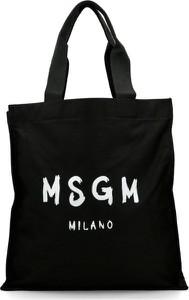 Czarna torebka MSGM duża