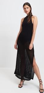 Czarna sukienka Mohito maxi bez rękawów