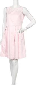 Różowa sukienka Lindex mini
