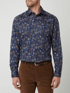 Granatowa koszula Olymp z długim rękawem