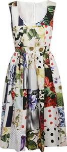 Sukienka Dolce & Gabbana z dekoltem w kształcie litery v