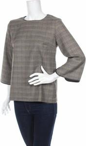 Brązowa bluzka Heine z okrągłym dekoltem w stylu casual