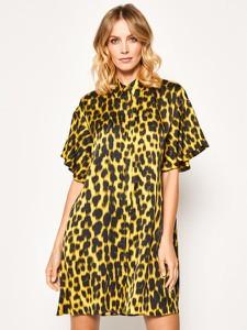 Sukienka Just Cavalli koszulowa z krótkim rękawem