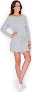 Sukienka Katrus mini z bawełny