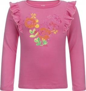 Różowa koszulka dziecięca Endo z długim rękawem