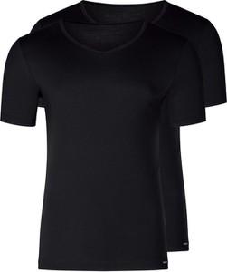 Czarny t-shirt Skiny