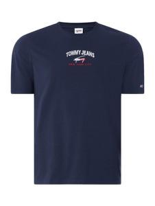 T-shirt Tommy Jeans w młodzieżowym stylu z bawełny