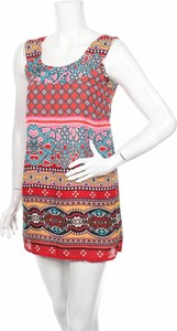 Sukienka Glamorosa w stylu casual na ramiączkach z okrągłym dekoltem