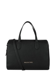 Czarna torebka Valentino by Mario Valentino matowa ze skóry ekologicznej duża