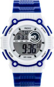 Zegarek PACIFIC sportowy LCD 203-L Granatowy