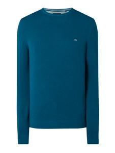 Granatowy sweter Christian Berg Men z bawełny