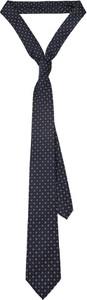 Granatowy krawat LANCERTO