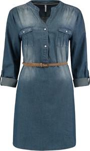 Niebieska bluzka Emp z bawełny