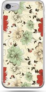 Etuistudio Etui na telefon iPhone 8 - zielone kwiaty