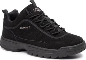 Buty sportowe Sprandi na platformie sznurowane