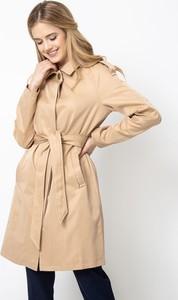 Brązowy płaszcz QUIOSQUE