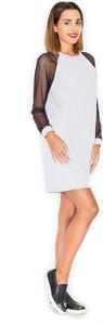 Sukienka Katrus z długim rękawem