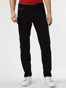 Czarne jeansy Tommy Hilfiger w stylu casual