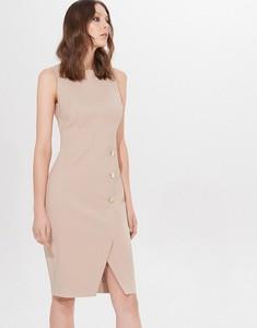 Sukienka Mohito bez rękawów mini z okrągłym dekoltem