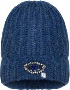 Niebieska czapka YOU by Tokarska