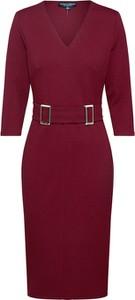 Czerwona sukienka Dorothy Perkins z dżerseju