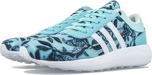 Buty sportowe Adidas z płaską podeszwą ze skóry sznurowane