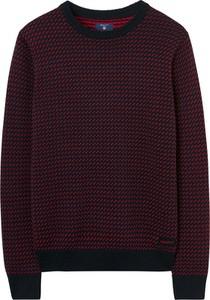 Czerwony sweter Gant w stylu casual
