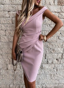 Różowa sukienka Sandbella mini