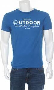 Niebieski t-shirt Penn-rich