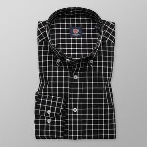 Czarna koszula Willsoor z długim rękawem