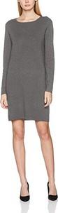 Sukienka amazon.de z dresówki z długim rękawem prosta
