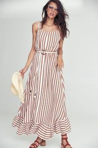 Sukienka Popatu maxi na ramiączkach