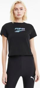 T-shirt Puma z krótkim rękawem w młodzieżowym stylu z bawełny