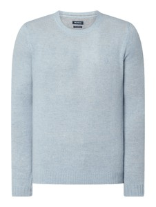 Sweter McNeal w stylu casual z wełny
