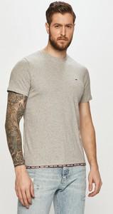T-shirt Tommy Jeans z krótkim rękawem z dzianiny