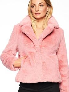 Różowy płaszcz Rino & Pelle w stylu casual