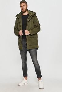 Zielony płaszcz męski Pepe Jeans