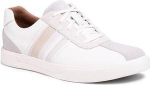 Sneakersy CLARKS - Un Costa Band 261505517 White