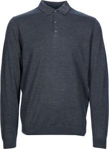Granatowy sweter Marvelis z wełny