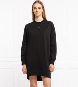 Sukienka Calvin Klein w stylu casual mini prosta