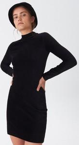 Czarna sukienka House w stylu casual mini