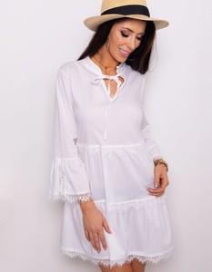 ac2295c4f3 biała sukienka oversize - stylowo i modnie z Allani