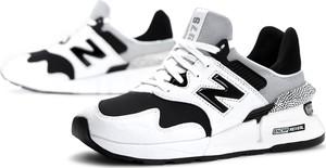 Buty sportowe New Balance z zamszu z płaską podeszwą