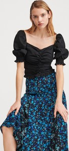 Niebieska spódnica Reserved w stylu casual midi