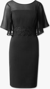 Sukienka YESSICA midi z krótkim rękawem
