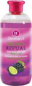 Dermacol Aroma Ritual Stress Relief Bath Foam pianka do kąpieli Grape & Lime 500ml
